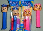 Chase and Skye Paw Patrol Pez MIB