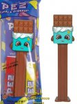 Cheeky Chocolate Shopkins Pez Mint in Bag