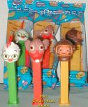 Chicken Little Set of 3 Pez with Fish and Abby MIP!