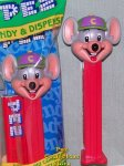 Chuck E Cheese Pez Mint in Bag