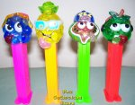 Colored Crystal Sourz Pez Set of 4 Pez Offer 310