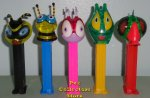 Kids Connection Colored Crystal Bugz Pez Set of 5