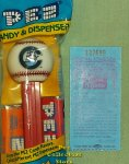 Columbus Clippers Baseball Pez MIB with Game Ticket