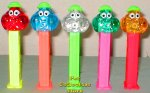 Colored Crystal Bubbleman Pez Set of 5 Pez Offer 60
