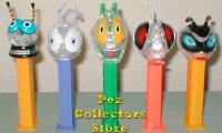 Colorless Clear Crystal Bugz Pez Set of 5 Pez Offer 283