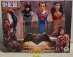Batman v. Superman plus Wonder Woman Pez Boxed Gift