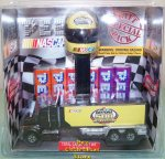 Daytona 500 Nascar Helmet and Hauler Pez Gift Set