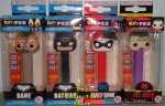 DC Bundle - Batman, Bane, Suicide Joker, Harley Quinn POP!+PEZ