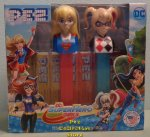 Harley Quinn and Super Girl DC Super Hero Girls Pez Twin Pack