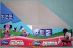 Disney Mickey Mouse Clubhouse Pez Counter Display 12 count Box