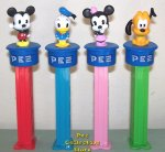 Euro Disney Cuties Click and Play Set of 4 Loose