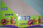 Disney Muppets Pez Counter Display 12 count Box