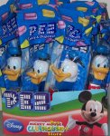 Donald Duck Set of 10 Clubhouse Pez Great Party Favors!