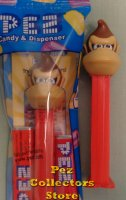 Donkey Kong Pez from Super Mario Nintendo Mint in Bag