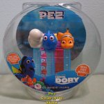Finding Dory Fishbowl Pez Gift Set on Blue Clear Stems