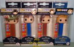Doctor Who Set of 4 Funko POP!+PEZ Bundle
