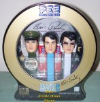 Elvis Pez Set in Gift Tin with CD