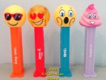 2021 European Emoji Pez with Printed Stems Loose