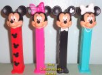 2020 European Mickey and Minnie Set of 4 Pez