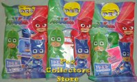 European PJ Masks Pez Set with 10 packs Euro candy and Stickers