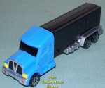 2010 European Pez Power Truck Rig V Grill Blue on Black