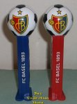 2014 FC Basel Swiss Soccer Ball Pez pair Loose