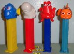 European Finding Dory Pez - Nemo Dory Hank and Bailey