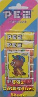 European Pez Candy Refills with football Tyke Sticker