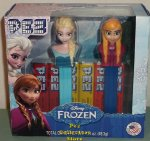 Boxed Disney Frozen Pez Gift Set with Elsa and Anna