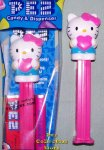 Hello Kitty with Pink Bow and Heart Full Body Pez