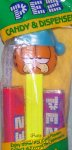 Sleepy Garfield with Night Cap Pez - Series II MIB