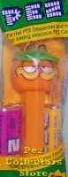 Garfield with Visor Pez Series I 4.9 stem MIB