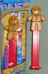 Gingerbread Man Pez Mint in Bag