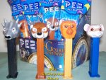 The Golden Compass Set of 4 Pez MIB