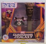 Guardians of the Galaxy Mini Rocket & Groot Pez Twin Pack
