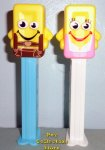 European Oktoberfest Pez Candy Brick Mascot Pair - Hans and Resi
