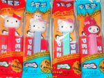 Hello Kitty Pez Set of 4 US Releases MIB