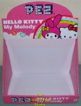 Hello Kitty 2010 Plush Pez Display 12 count Box