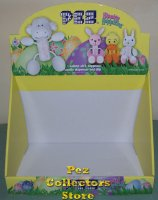 Easter Hippity Hoppities 2010 Plush Pez Display 12 count Box