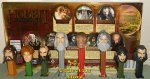 2013 The Hobbit Pez Limited Edition Set of 8 Loose