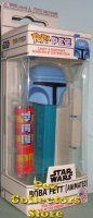 Star Wars Holiday Boba Fett (Animated) POP!+PEZ