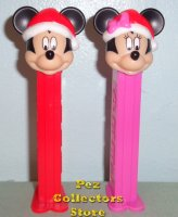 2020 Mickey and Minnie Christmas Holiday Pez Loose