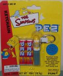 Retired Homer Simpson Pez Keychain MOC