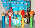 Ice Age 2 Sid, Diego, Manny and Scrat Pez MIB