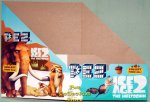 Ice Age II Pez Counter Display 12 count Box