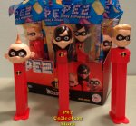 Incredibles 2 Pez Violet, Dash and Jack Jack MIB