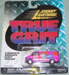 Johnny Lightning True Grit Pez Van MOC