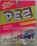 Johnny Lightning Pez Bicentennial Topper Moving Van MOC