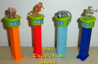 Click and Play Jurassic World Dinosaur Pez Loose
