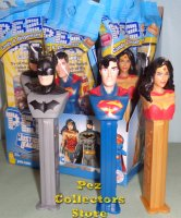 2020 Justice League Batman, Superman and Wonder Woman Pez